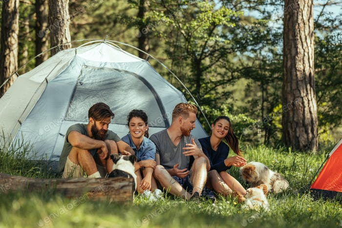 Camping buddies