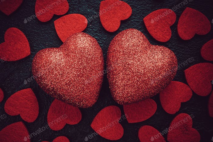 Love Valentines Day red heart