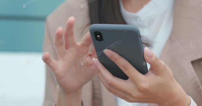 Uso del teléfono inteligente