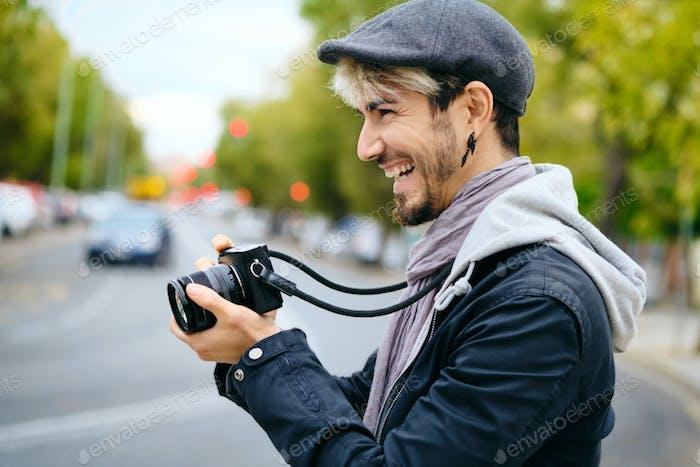 Hipster Street Photographer