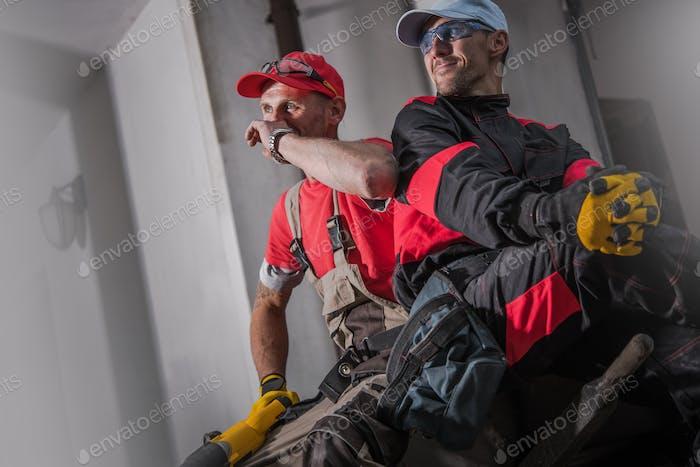 Baustellenbesatzung