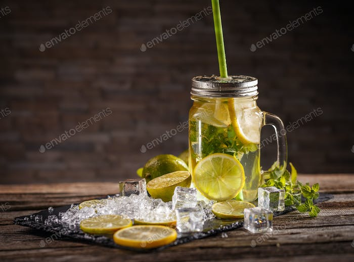 Citrus lemonade water