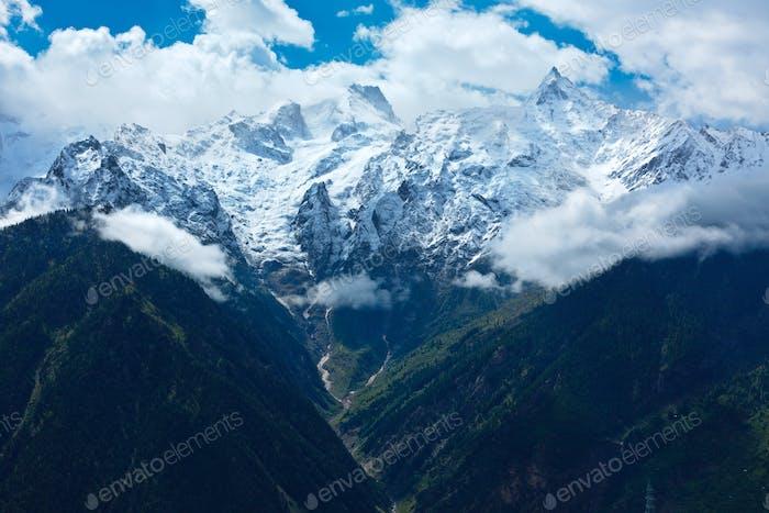 Himalayas - Kinnaur Kailash range
