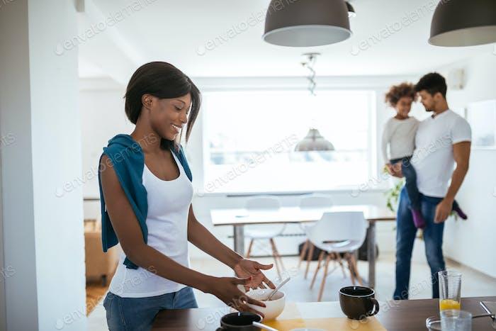 Основной рецепт здорового завтрака — любовь