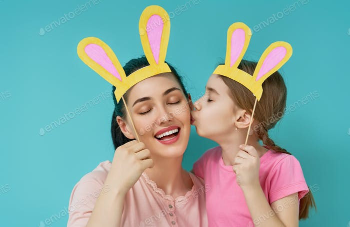 Family are celebrating Easter