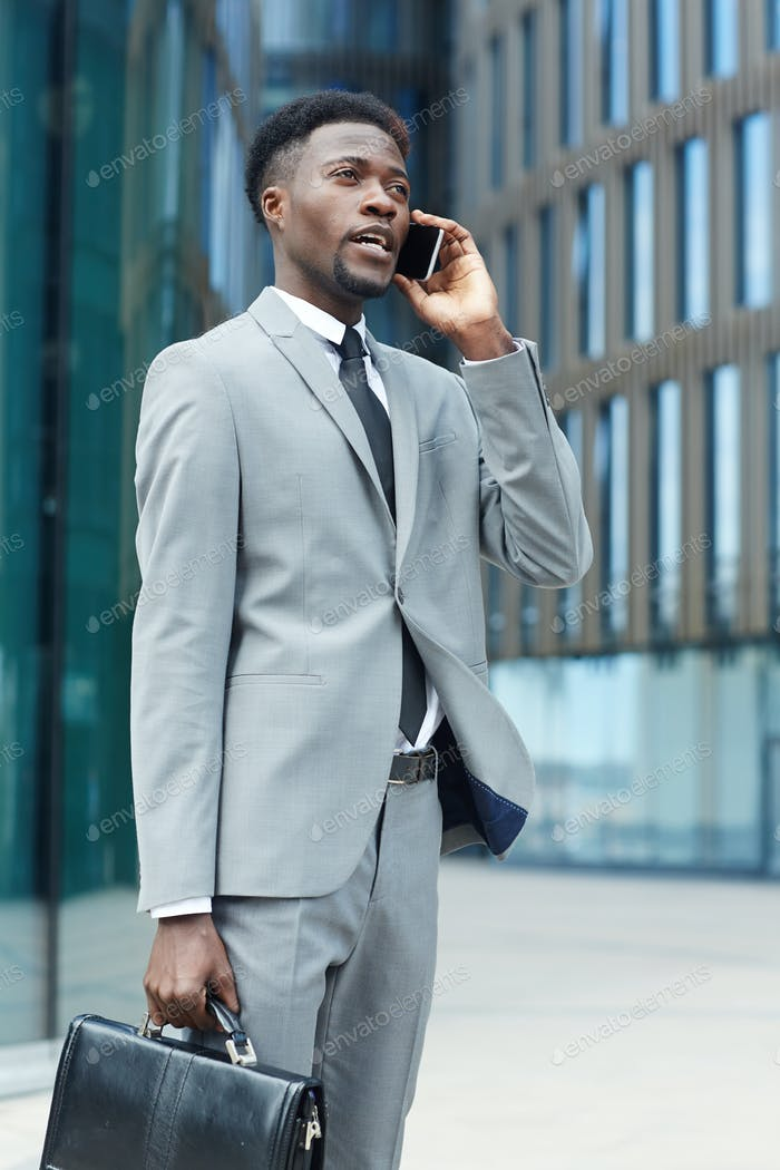 Broker calling