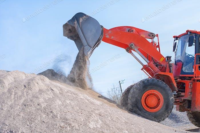 heavy wheel loader