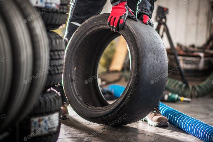 Motorsport Slick Tire