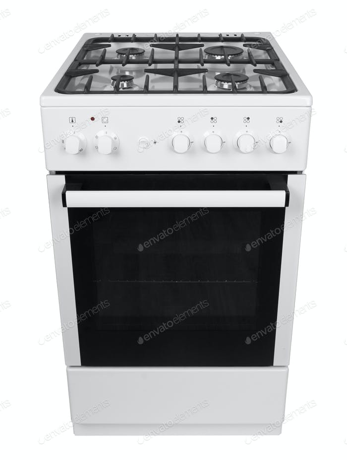 Gas stove isolated
