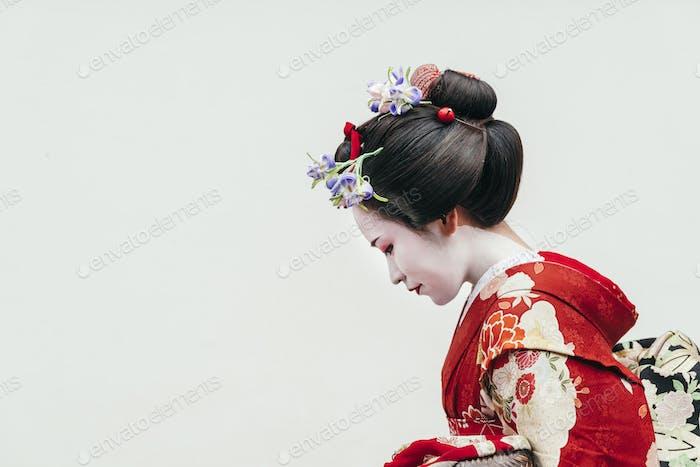 Maiko Geishas in Kyoto, Japan