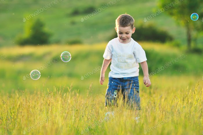 child bubble