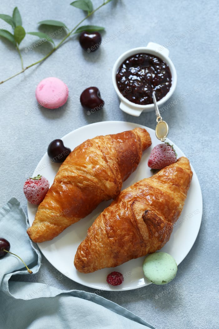 Traditional French Croissant