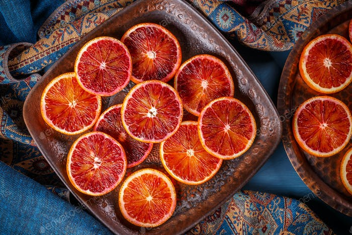 Red blood orange