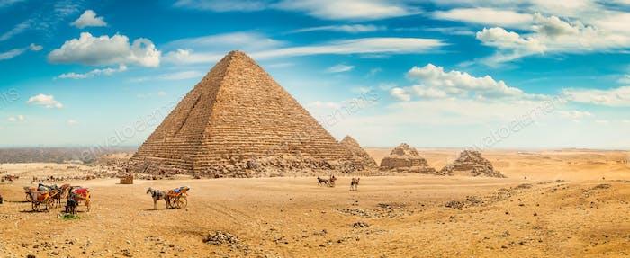 Giza in the desert