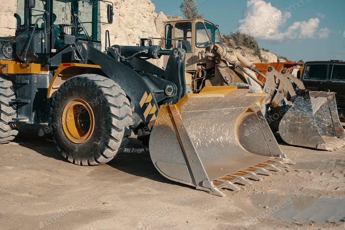 Thumbnail for Heavy machinery in quarry