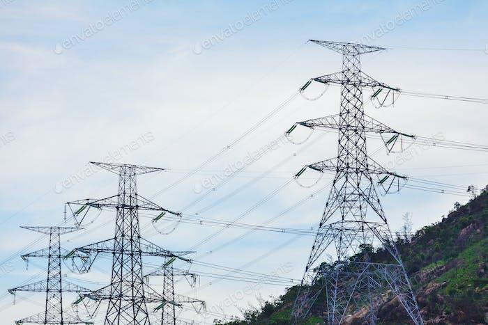 Stromverteilung Turm