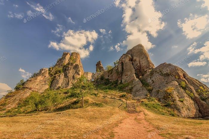 rocks formation