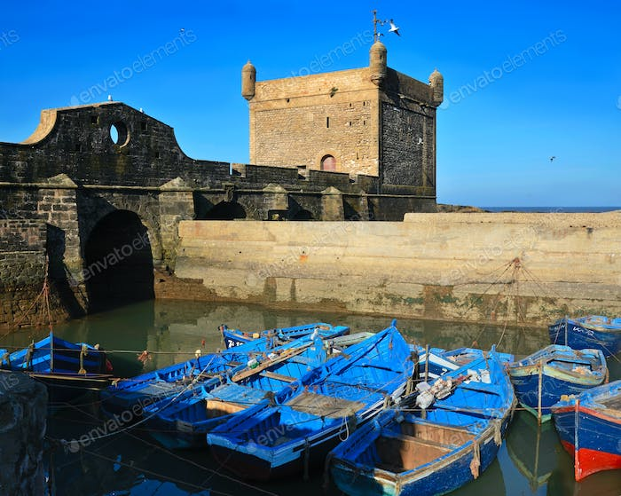 Port in Essaouira