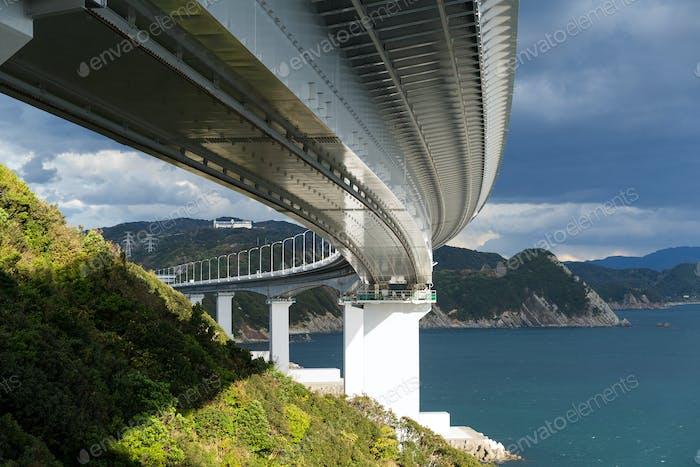 Bottom of Naruto Bridge