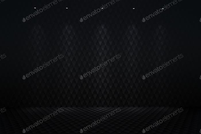 Illuminated Carbon Background