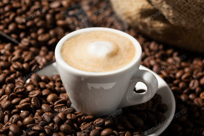 Cappuccino or Coffee with milk cup