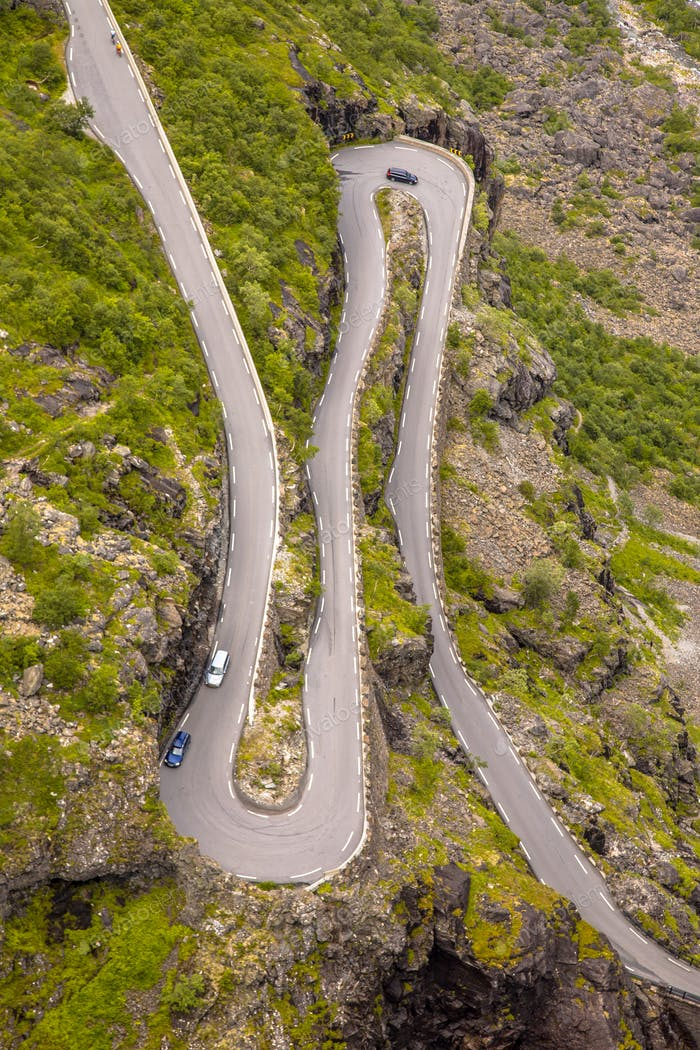 Perfect Hairpin bend