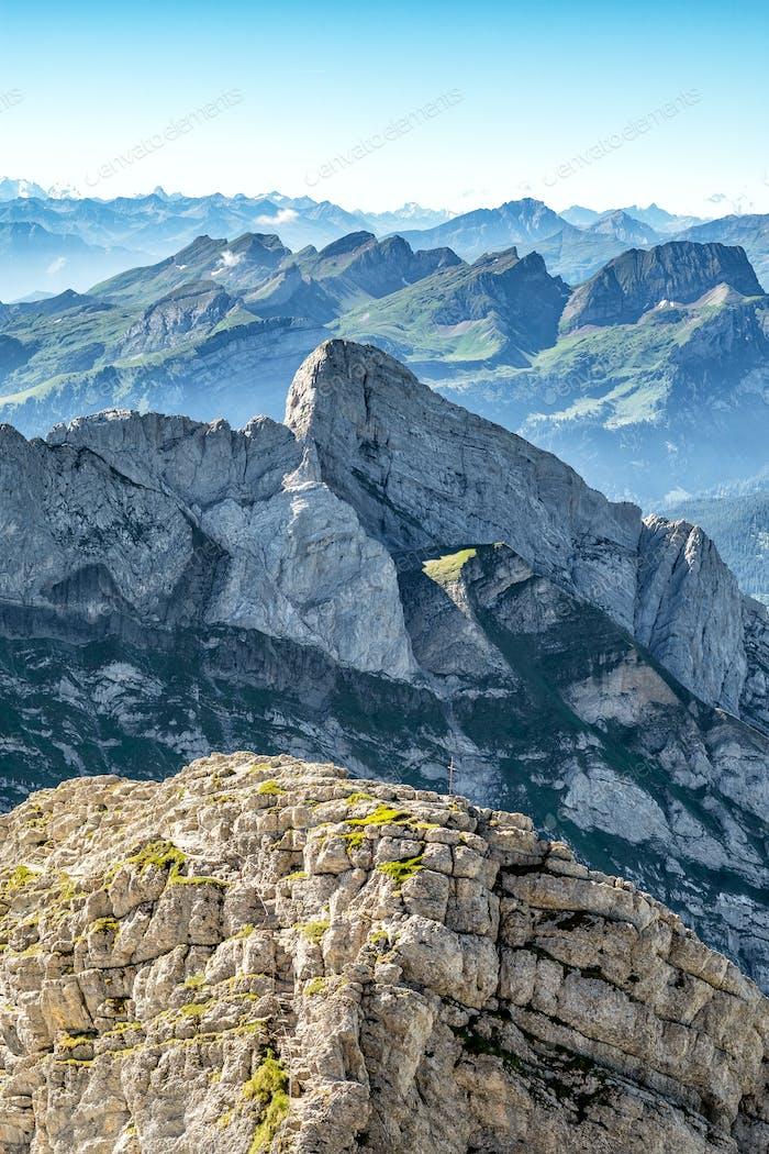 Swiss Alps landscape
