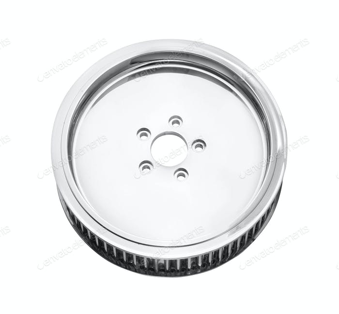 Car Rim isolated on white background