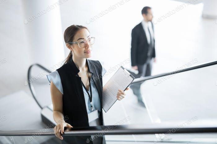 Female delegate