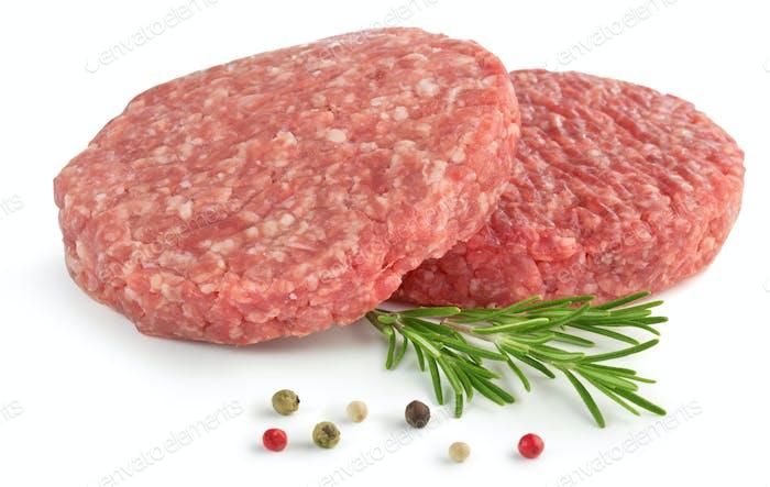 raw burger
