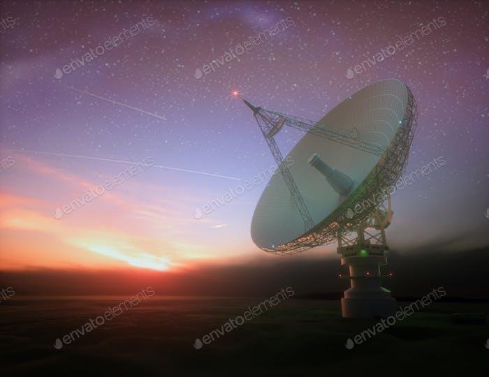 Signal von Galaxie