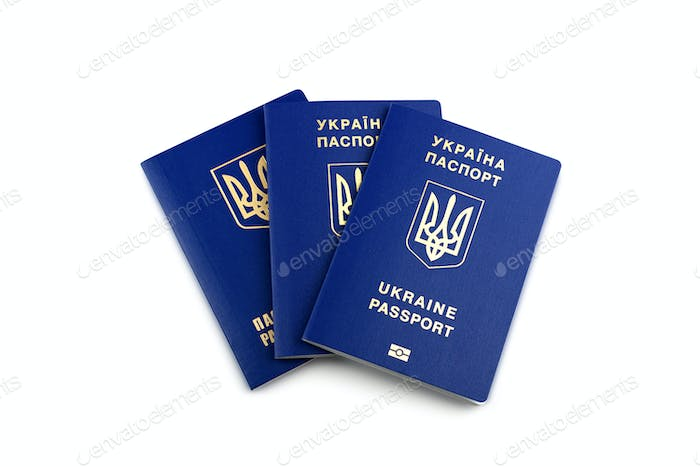 Ukrainian biometric passports