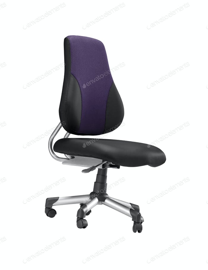 large office chair isolated on white background