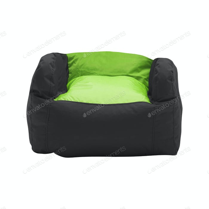 soft leather beanbag