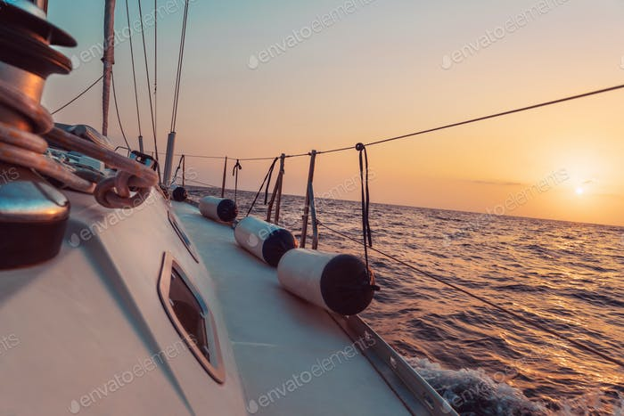 Sailing Mediterranean Sea