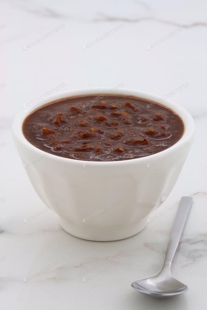 Artisan home made chipotle sauce