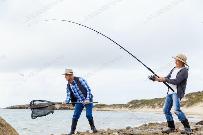Imagen de pescador
