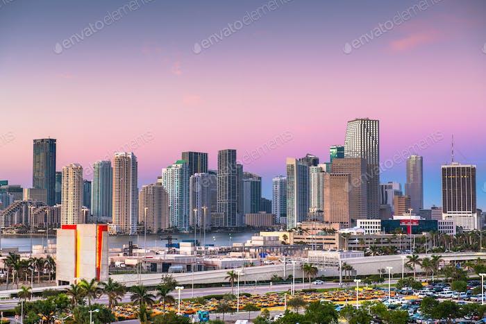 Miami, Florida, USA Skyline
