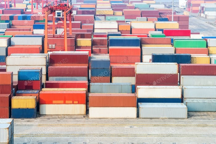 container depot background
