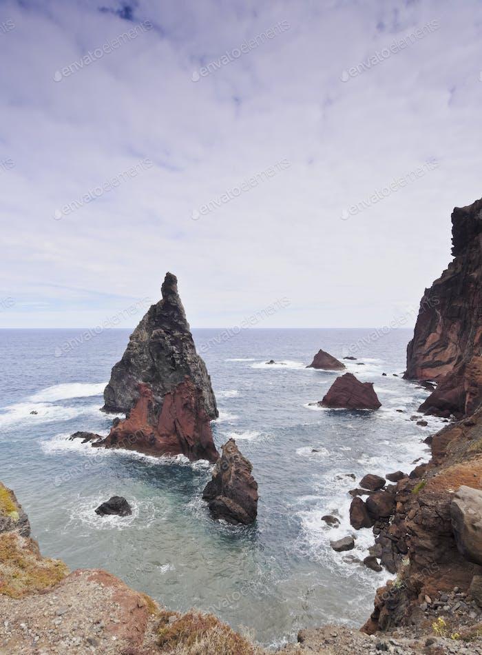 Ponta de Sao Lourenco on Madeira