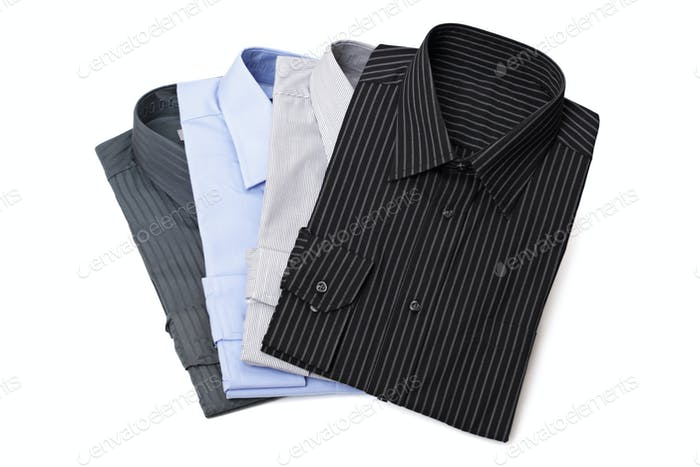 New men's dress shirts