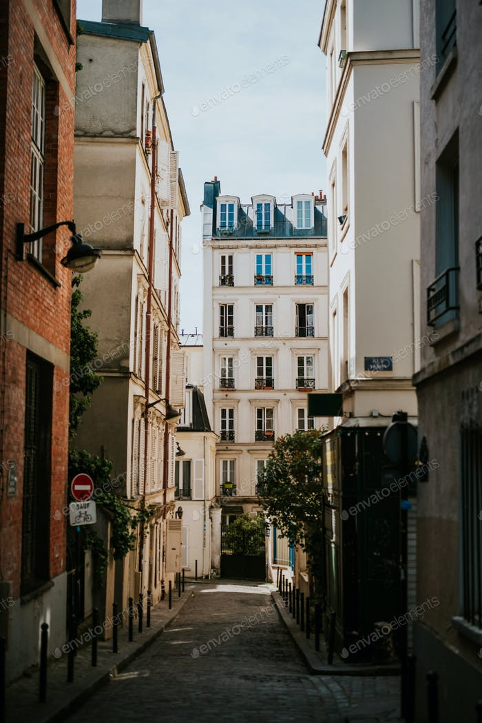 Small street in Paris