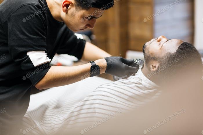 Шея для бритья