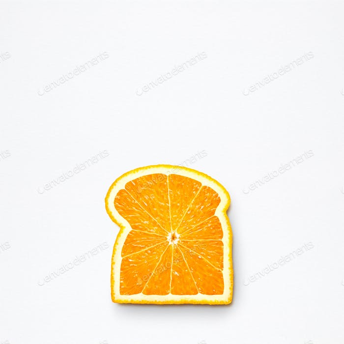 Orange bread.