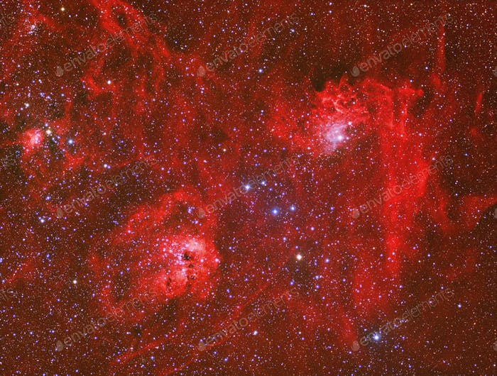 Emission Nebula IC 405