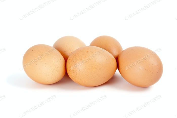 Wenige Eier