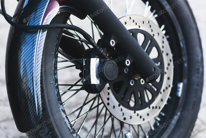 Part of motorcycle: disc brake