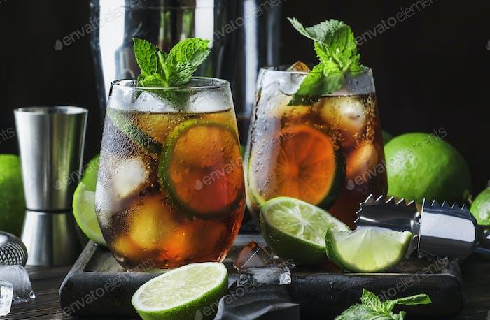 Cuba Libre Alkohol Cocktail