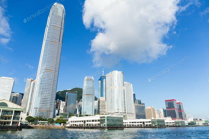 Hong Kong at day time
