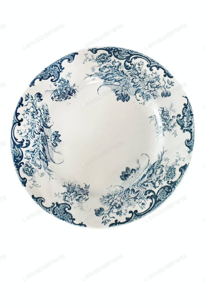 antique plate